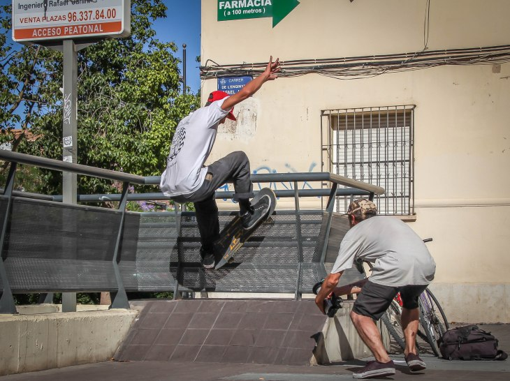 Skate spot, Valencia, Spain - Rickard - Photo 3