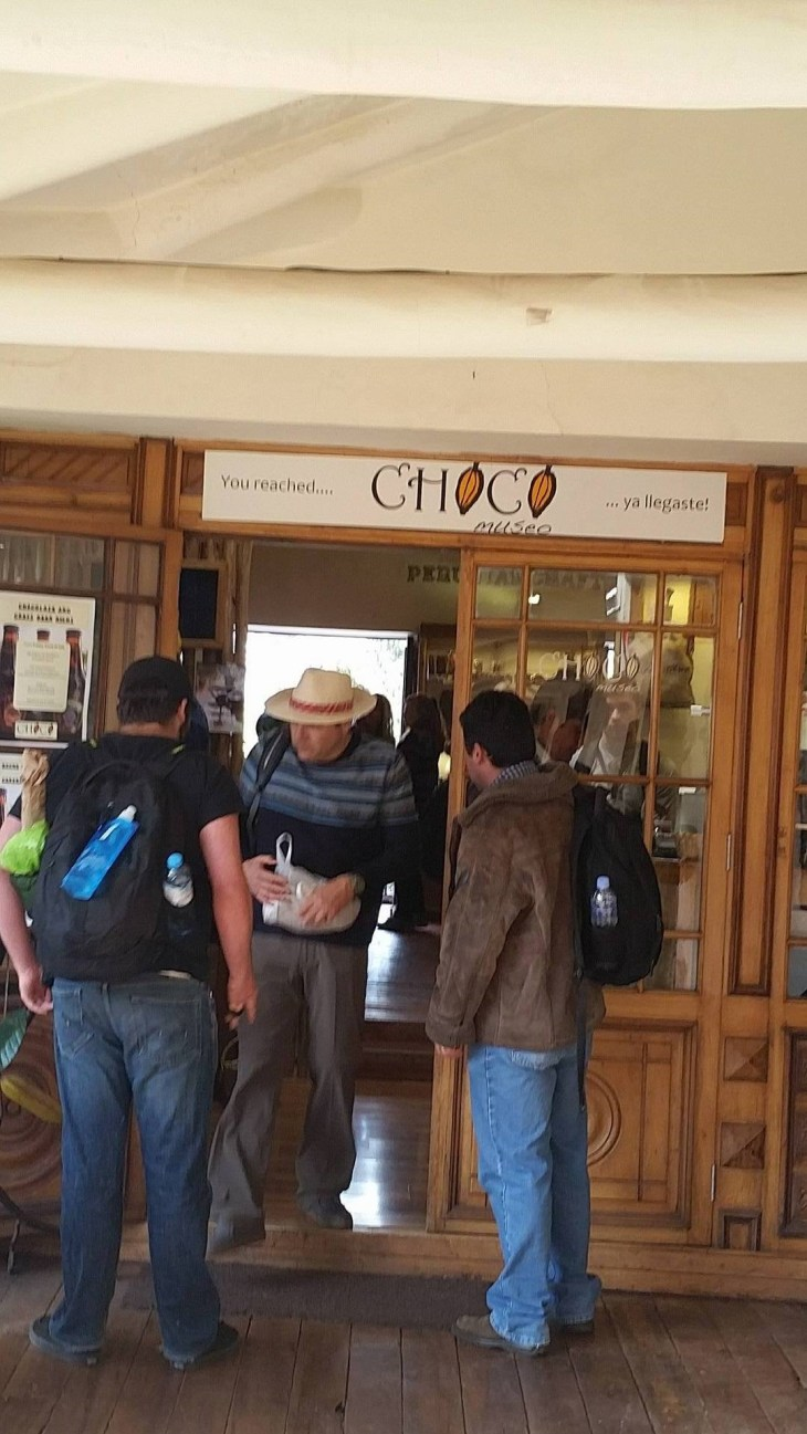 My most recommended place: The Peru Chocolate Factory!