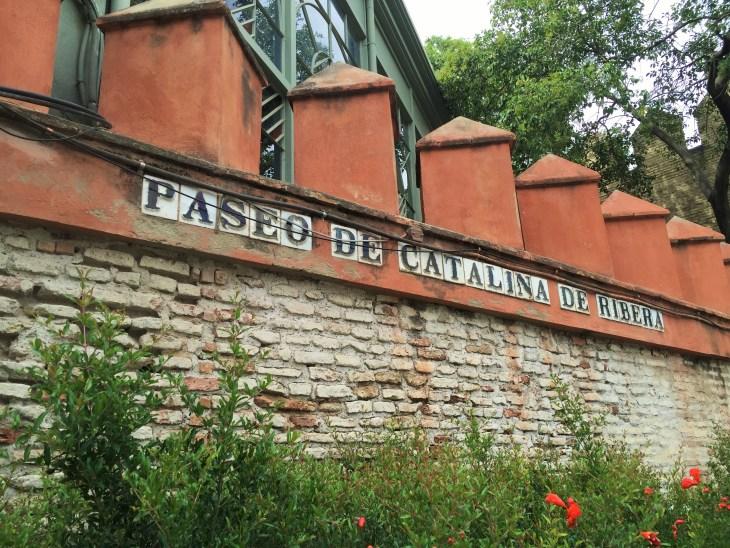 Street sign in Seville