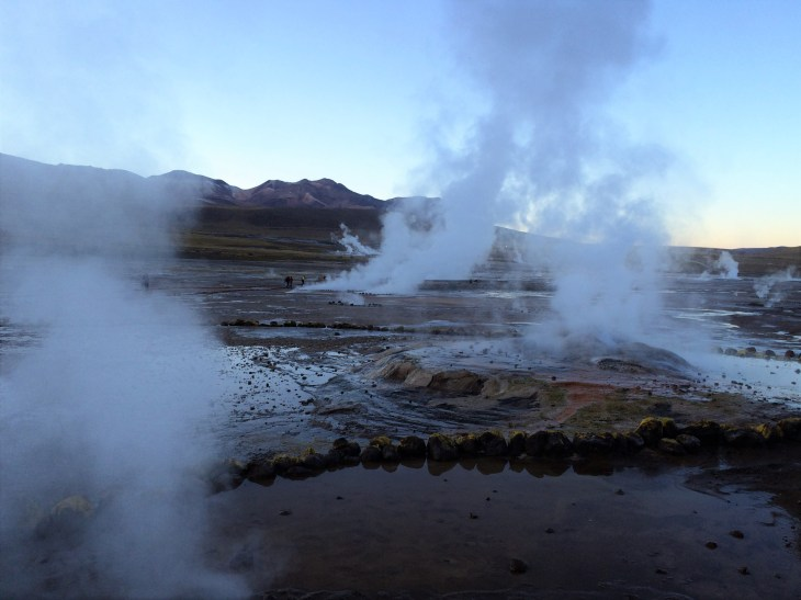 It doesn't get much more extreme than geysers shooting scalding hot water into the air