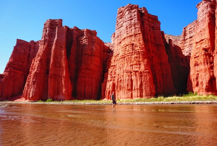 Each rock formation has so much character after being carved for millions of years by water and wind