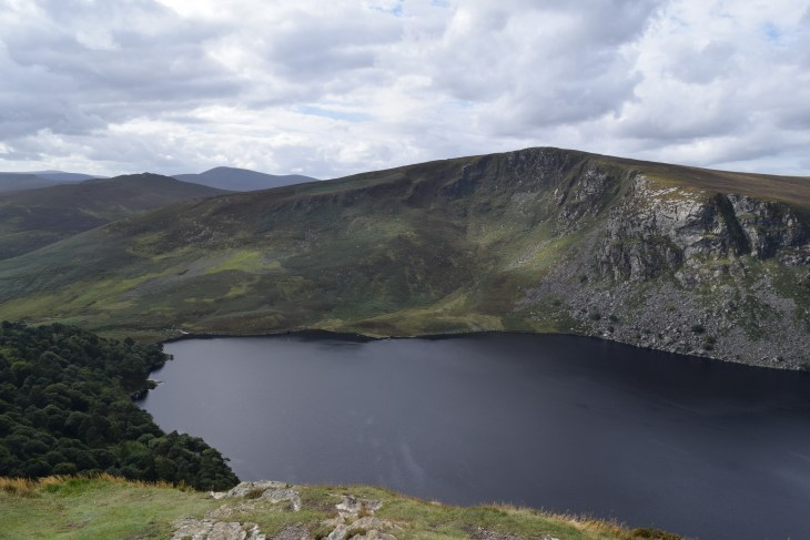 This was taken on Djouce Mountain overlooking Lough Tay, also known as Guinness Lake, and Luggala Mountain.