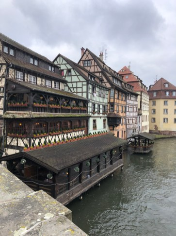 "The famous houses of Strasbourg's ""Petite France"""