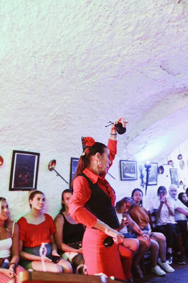woman flamenco dancer