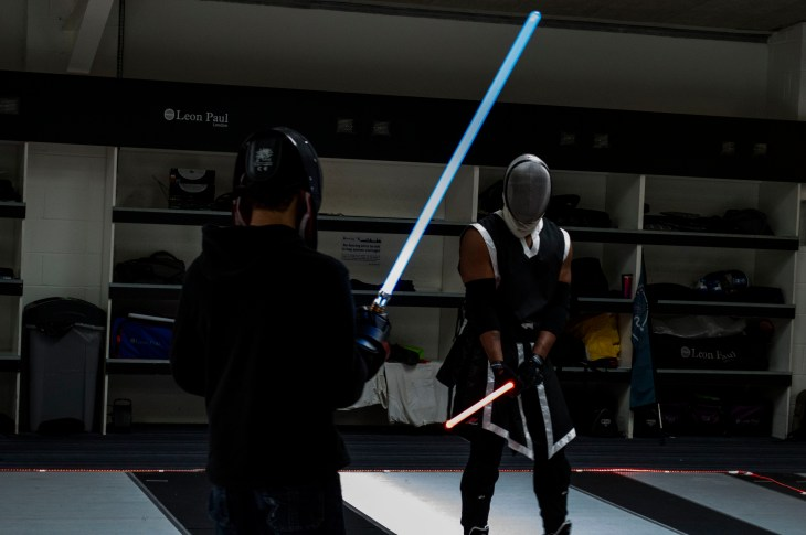 worldwide starwars fencing