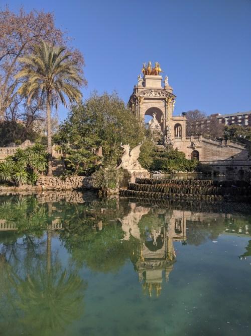 cascada monumental barcelona