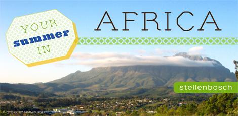 Study abroad south africa summer stellenbosch kwazulu-natal cape town