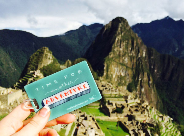 An ISA Global Ambassador traveling in Peru.
