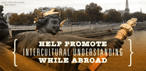 ISA Abroad classmates connecting cultures