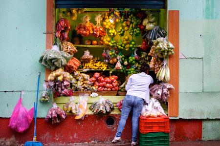 Market in San Jose, Costa Rica