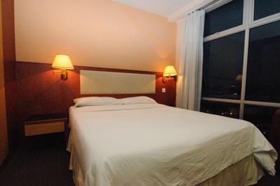 king park hotel ベッド