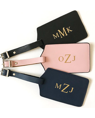 bridesmaids gift ideas 2019 studio i do personalized luggage tag travel