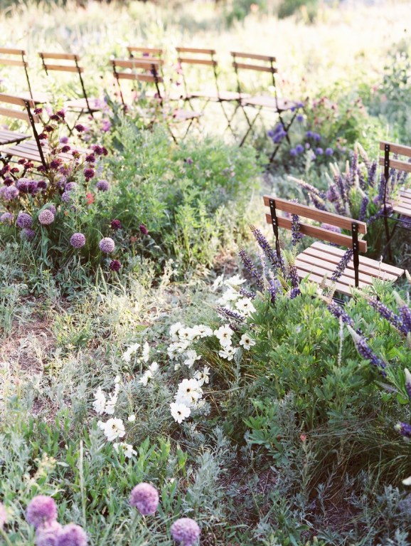 spring wedding inspiration and ideas flower aisles during ceremony d'arcy benincosa photography studio i do