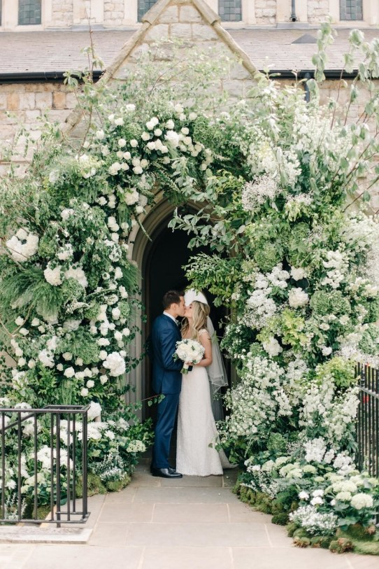 spring wedding inspiration and ideas flower archway m and j photography studio i do
