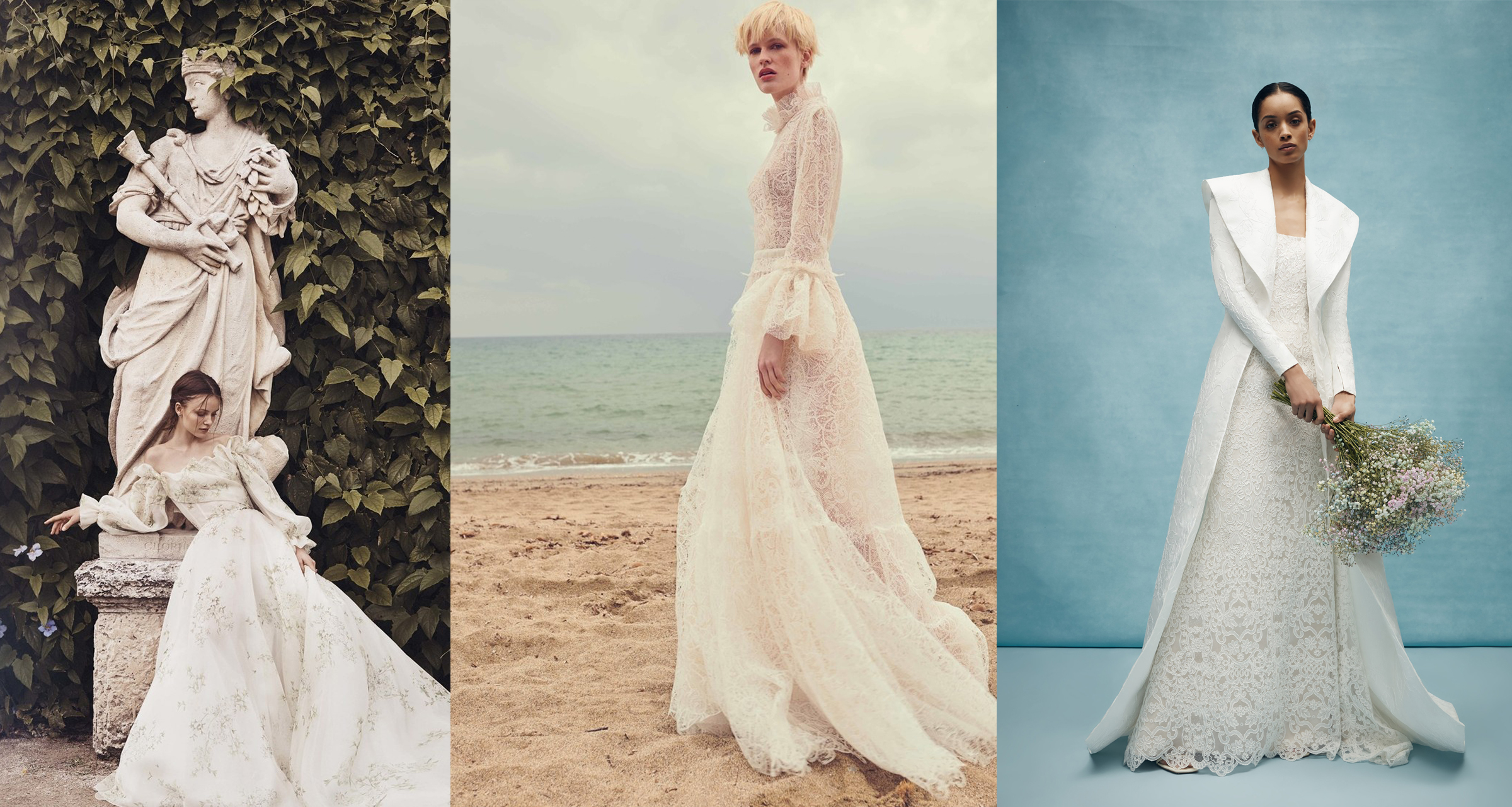 4de0eaa9461b Our Favorite Wedding Dress Trends from the Bridal Spring 2020 Shows ...