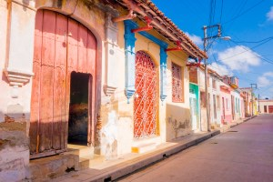 Camaguey Cuba old town listed on UNESCO World Heritage