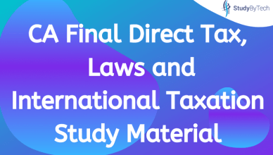 ca final dt laws and it study material