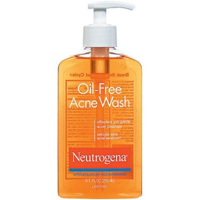 Neutrogena - Oil Free Acne Facial Cleanser