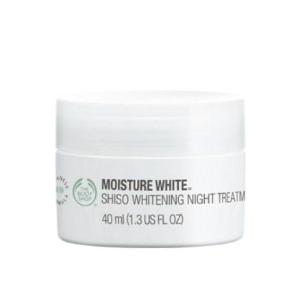 The Body Shop - New Moisture WhiteGäó Shisho Whitening Night Treatment
