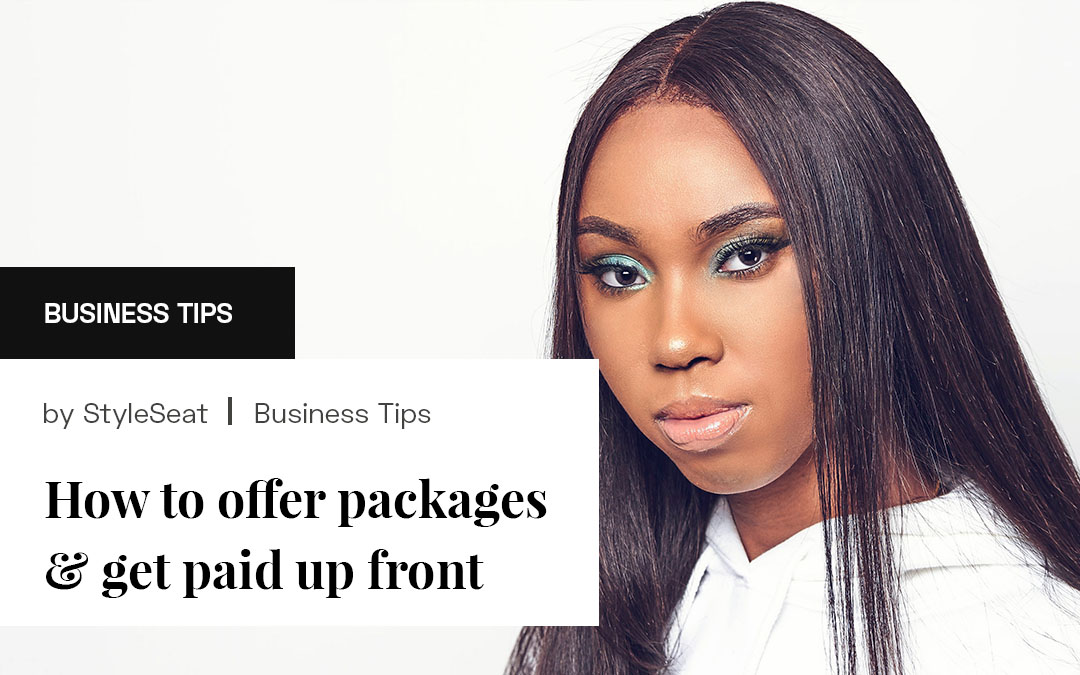 How To Offer Packages & Get Paid Upfront
