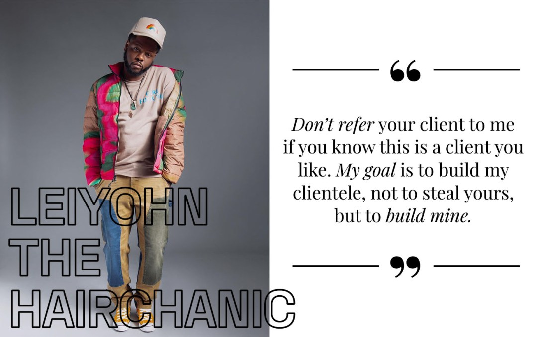 StyleSeat Pro LeiYohn The Hairchanic on building his client base