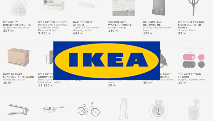 Ikea Retail Therapy Campaign 2016