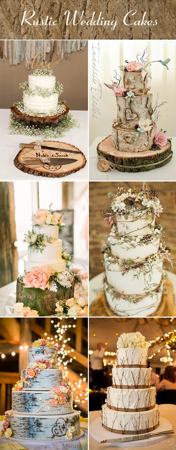 country wedding ideas     Stylish Wedd Blog DIY country wedding cake ideas