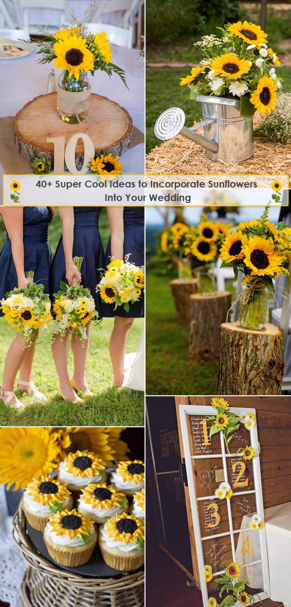 Rustic Wedding Ideas With Sunflowers Wedding Ideas