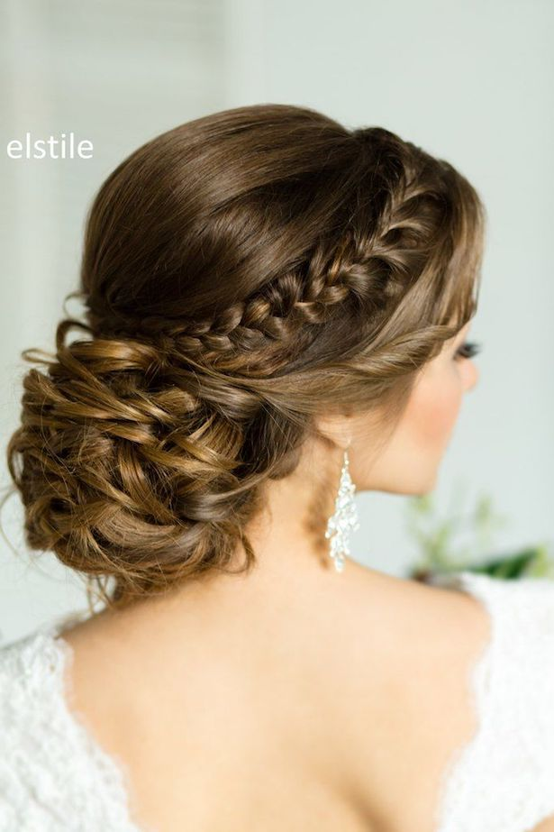 25 stunning wedding braided updo hairstyles that will take your breath away