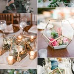 2017 Wedding Trends Geometric Terrarium Stylish Wedd Blog