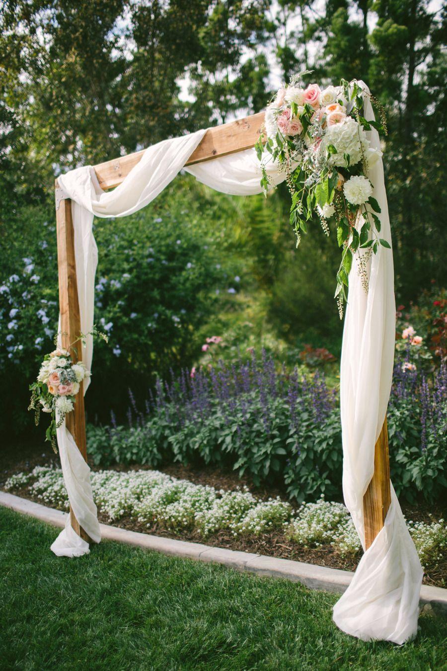 Black Wedding Arch Decorations
