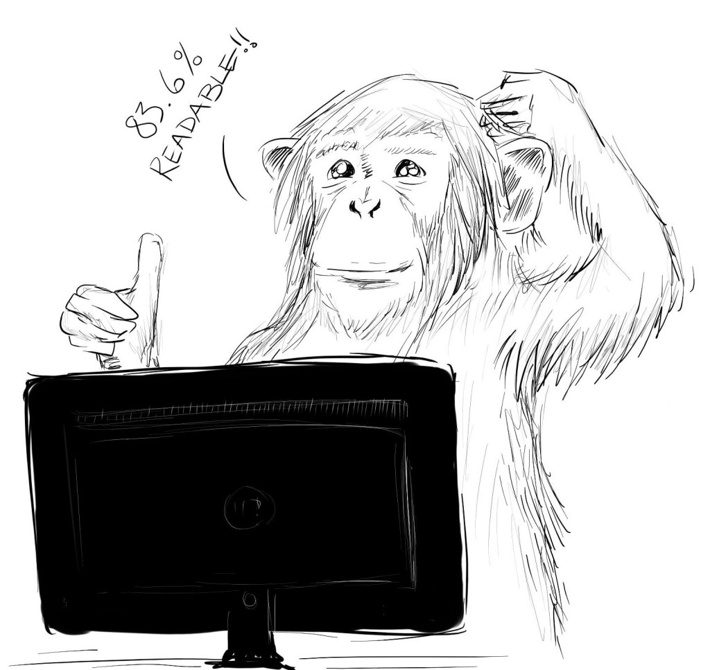 Code Monkey Computing Readability