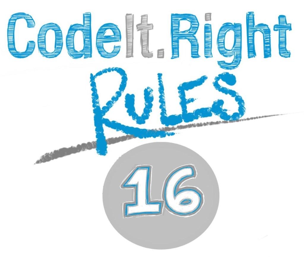 CodeItRightRules16