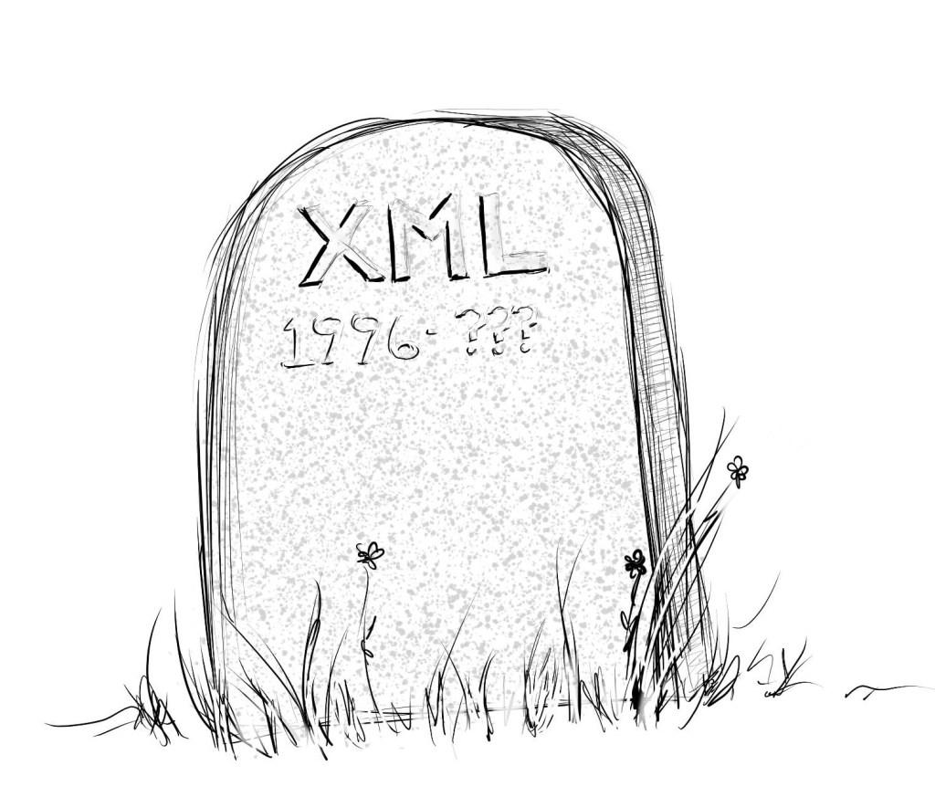 XML gravestone