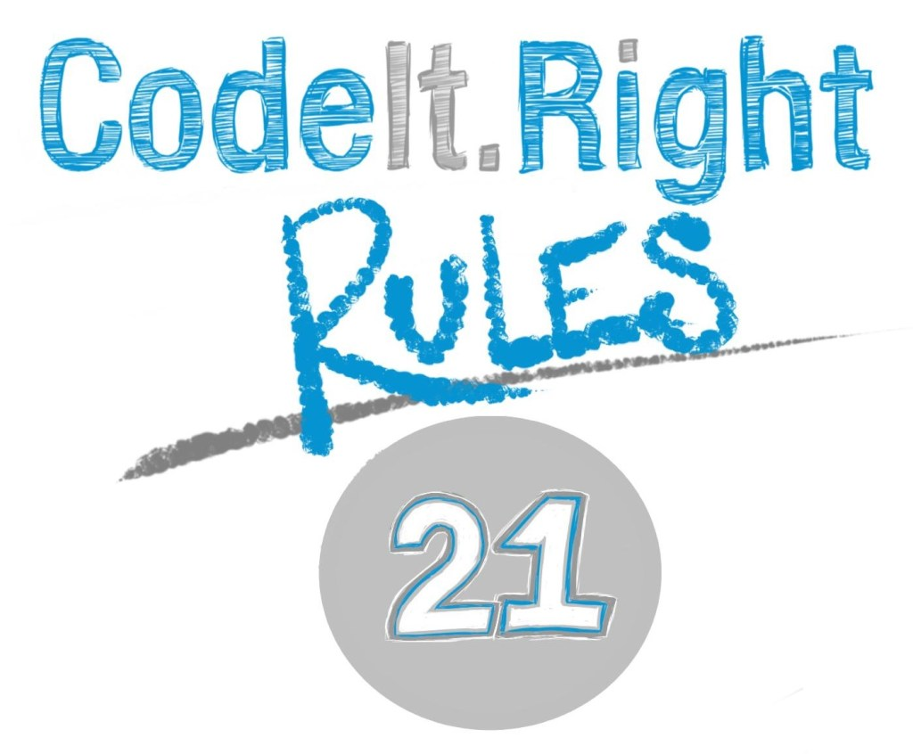 CodeItRight_Rules_21