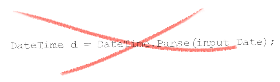 String Was Not Recognized as a Valid DateTime