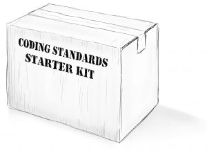 C# coding standards starter kit box