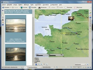 Géolocalisation des clichés (digiKam)