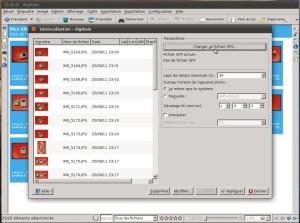 Synchronisation des traces GPX dans digiKam