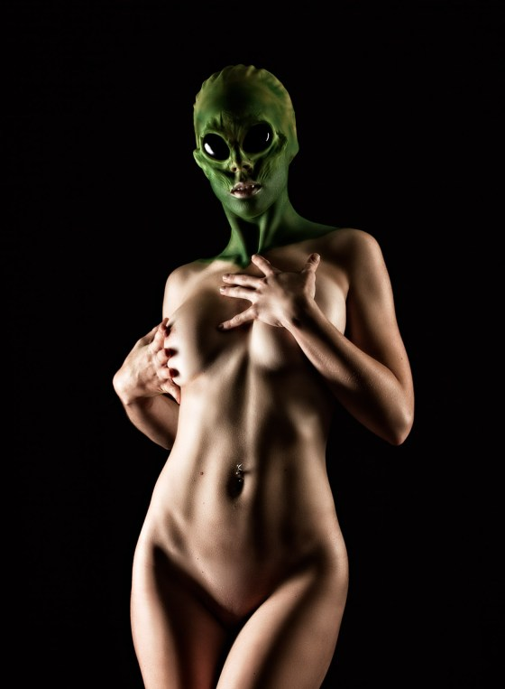 Alien Dark Nude