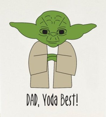 Yoda pun for the Star Wars fan // image via Etsy elemenopeedesign