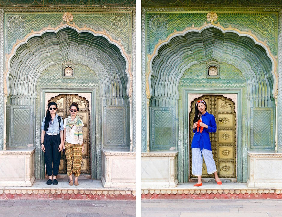Interview Oh Dear Drea and PUNJAMMIES at City Palace in Jaipur