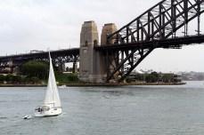La baie et Harbour bridge