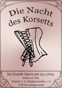Nacht des Korsetts 2015