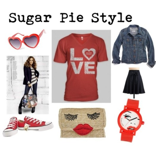 Sugar Pie Style - Love Tee