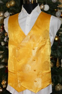 Colourful Patterned Waistcoat