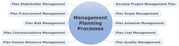 The Management Planning Processes