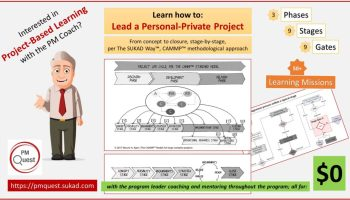 Project-Based Learning, Applied Project Management, Leading a Personal Project