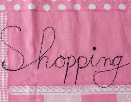 Shoppin Schriftzug