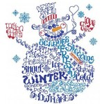 SULKY® Stickdesign Winter Word Play